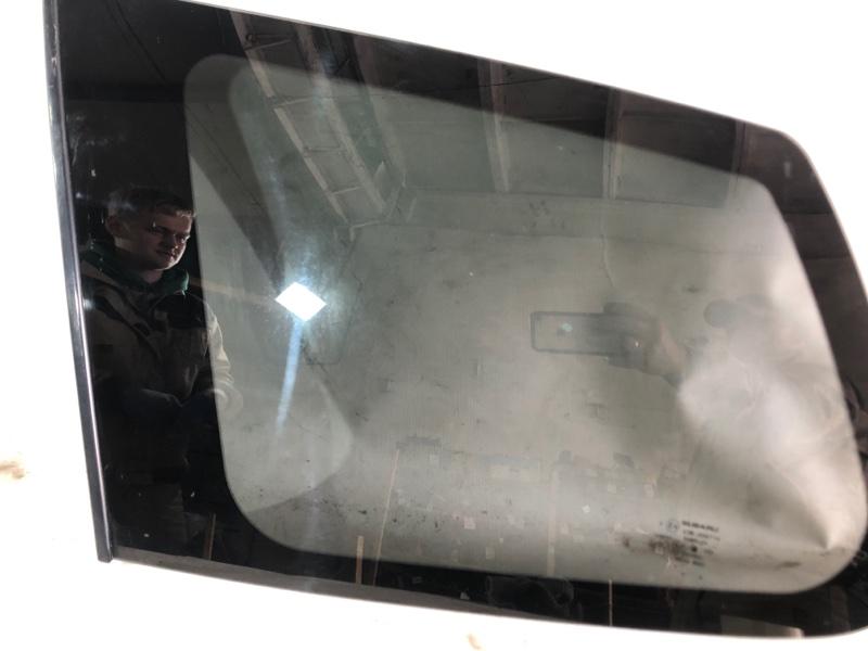 Стекло багажника Subaru Forester SHJ FB20A 11.2011 заднее левое (б/у)