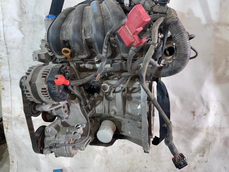 Двигатель Nissan Tiida Latio SNC11 HR15DE 10.2008 (б/у)
