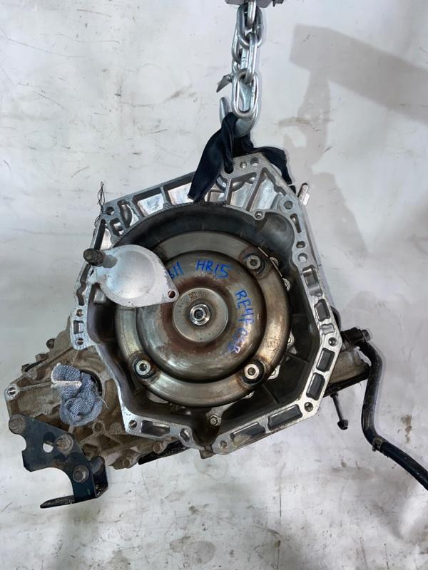 Кпп автоматическая Nissan Tiida Latio SNC11 HR15DE 10.2008 (б/у)