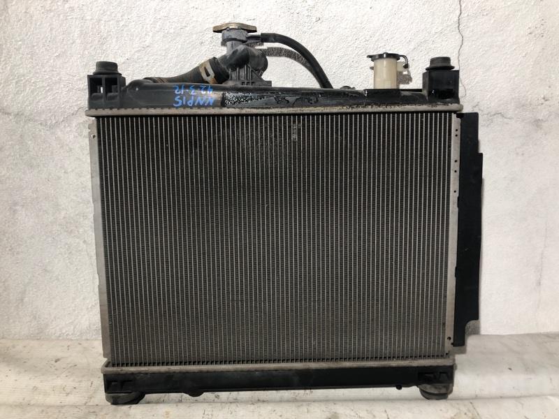 Радиатор двс Toyota Porte NNP15 1NZ (б/у)