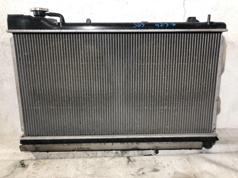 Радиатор двс Subaru Forester SG5 EJ20 (б/у)