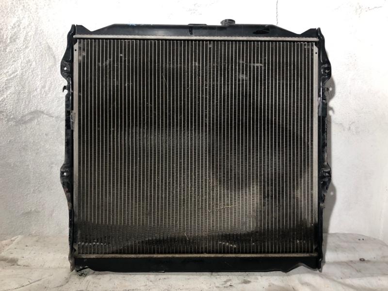 Радиатор двс Toyota Hilux Surf KDN185 1KD-FTV (б/у)