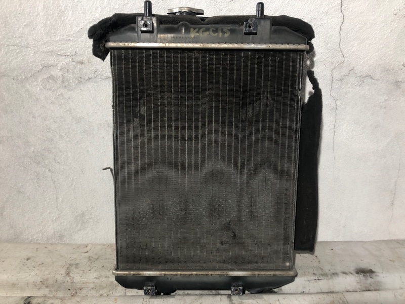 Радиатор двс Toyota Passo KGC15 1KR-FE 2006 г. (б/у)