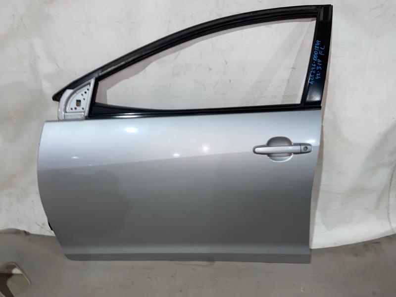Дверь боковая Toyota Caldina AZT246 передняя левая (б/у)