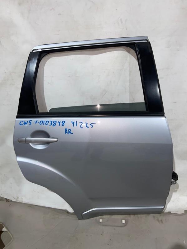 Дверь боковая Mitsubishi Outlander CW5W задняя правая (б/у)