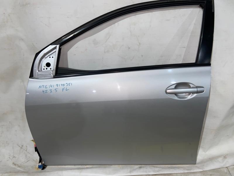 Дверь боковая Toyota Corolla Fielder NZE141 передняя левая (б/у)