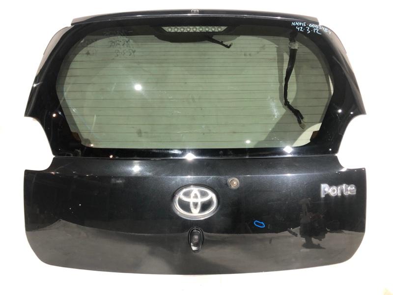 Дверь задняя Toyota Porte NNP15 1NZ задняя (б/у)