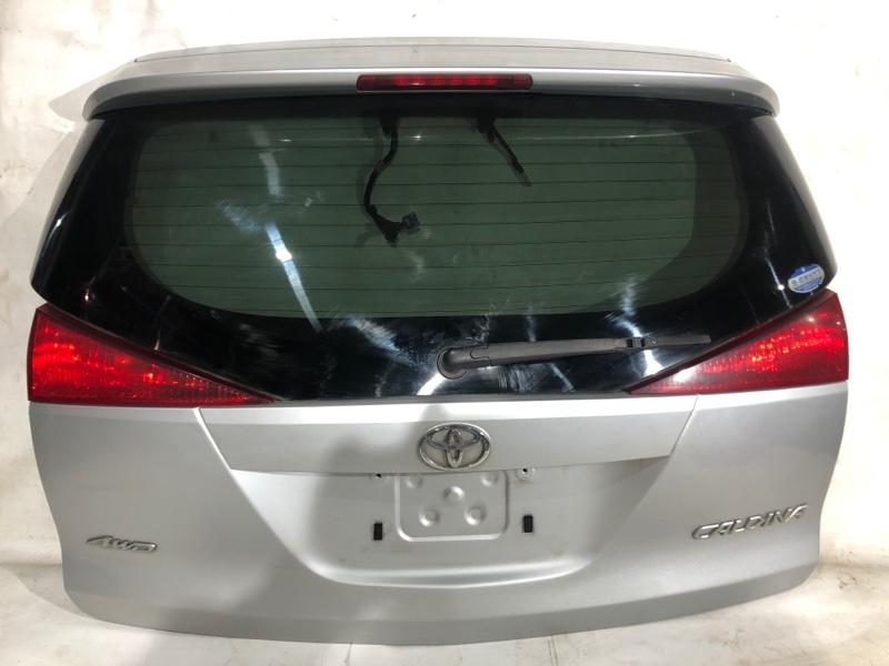 Дверь задняя Toyota Caldina AZT246 1AZ-FSE 2004.08 задняя (б/у)