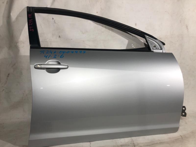 Дверь боковая Toyota Caldina AZT246 передняя правая (б/у)