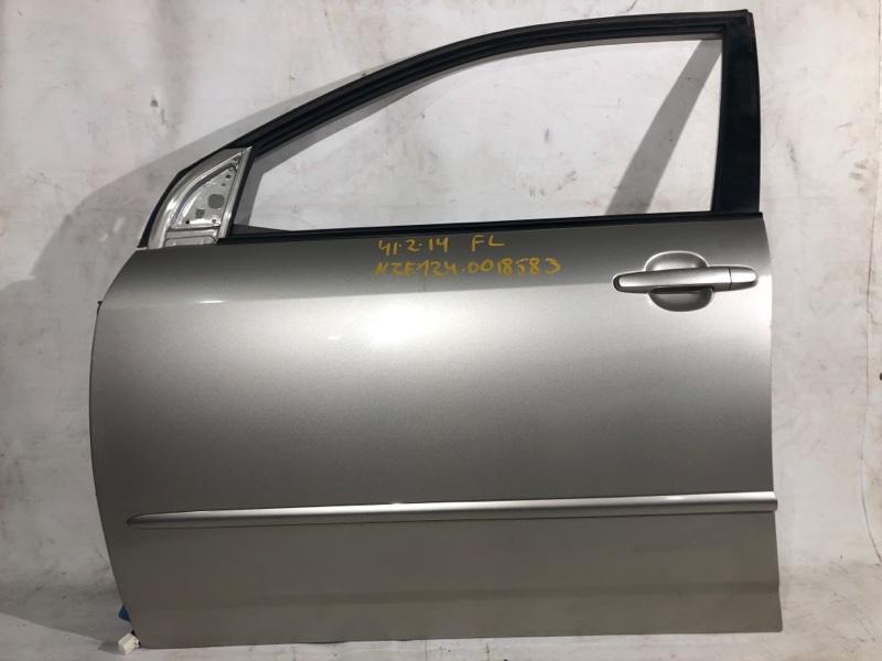 Дверь боковая Toyota Corolla NZE124 передняя левая (б/у)