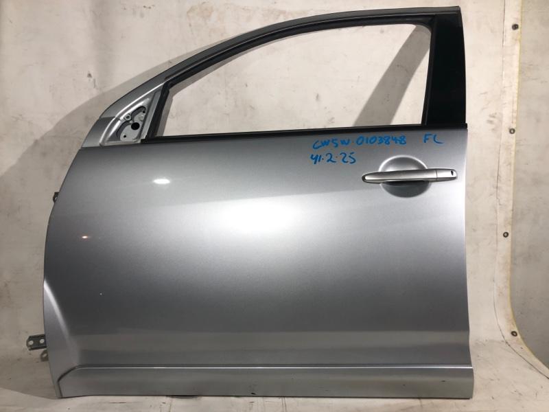 Дверь боковая Mitsubishi Outlander CW5W передняя левая (б/у)