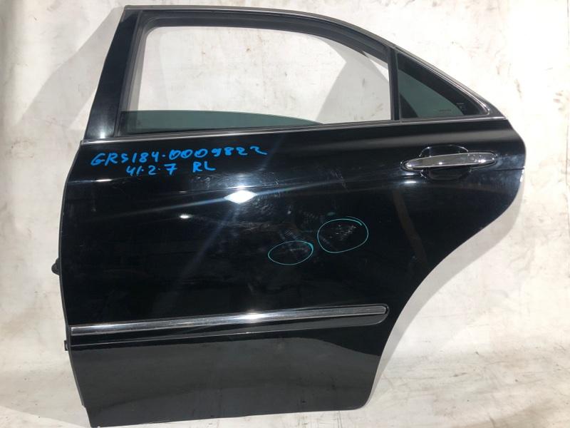 Дверь боковая Toyota Crown GRS184 задняя левая (б/у)
