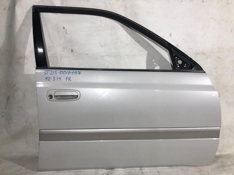 Дверь боковая Toyota Corona Premio ST215 передняя правая (б/у)