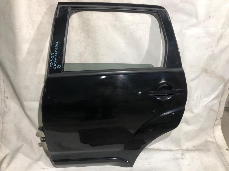 Дверь боковая Mitsubishi Outlander CW5W задняя левая (б/у)