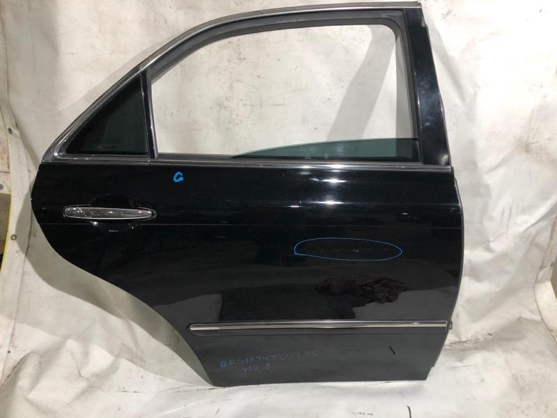 Дверь боковая Toyota Crown GRS184 задняя правая (б/у)
