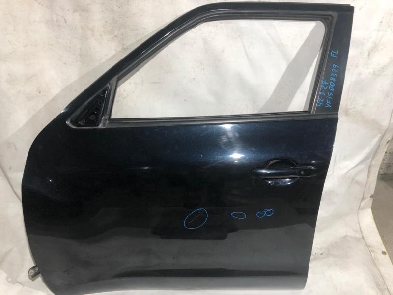 Дверь боковая Nissan Juke YF15 HR15 передняя левая (б/у)