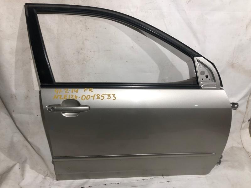 Дверь боковая Toyota Corolla NZE124 передняя правая (б/у)