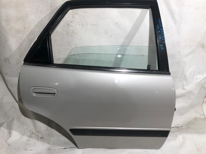 Дверь боковая Toyota Sprinter AE110 5A FE задняя правая (б/у)
