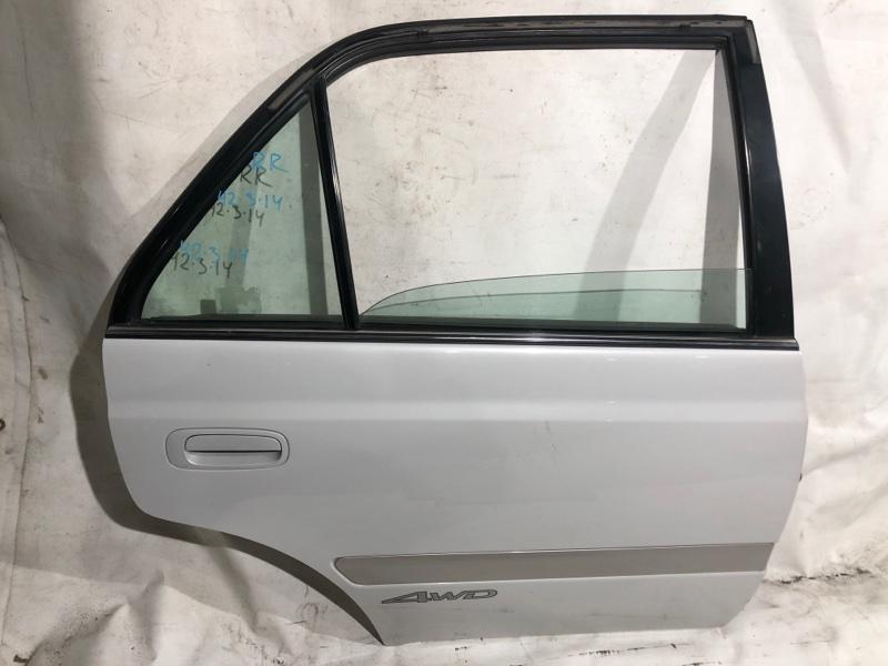 Дверь боковая Toyota Premio ST215 задняя правая (б/у)