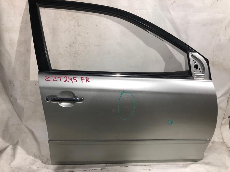 Дверь боковая Toyota Premio ZZT245 передняя правая (б/у)