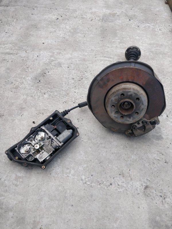Ступица Bmw 7-Series E66 N62N 2007 задняя левая (б/у)
