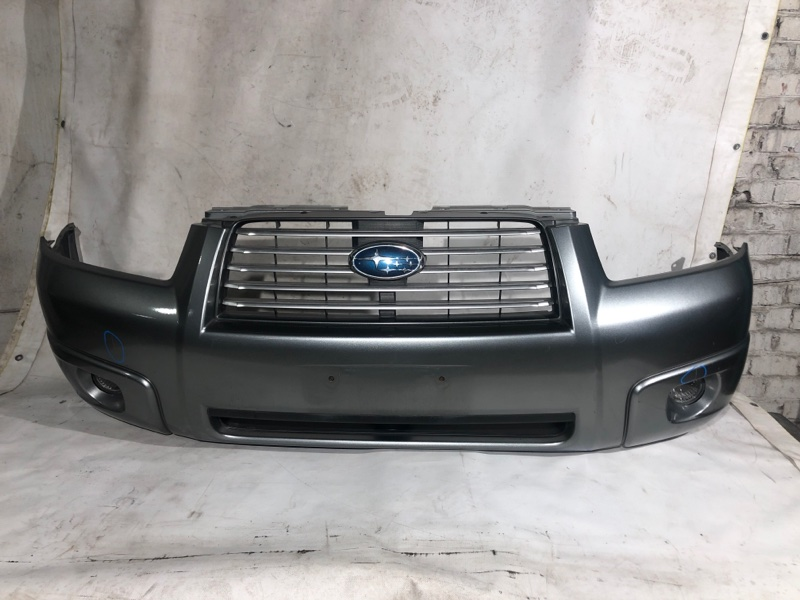 Бампер Subaru Forester SG5 передний (б/у)