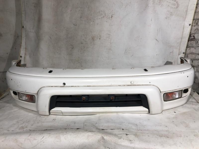 Бампер Toyota Hilux Surf KDN185 1KD-FTV 08.2000 передний (б/у)
