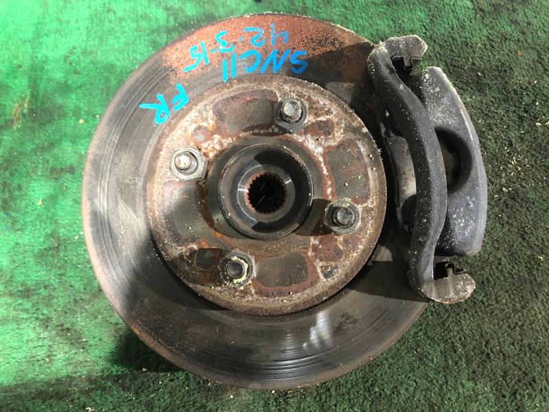Ступица Nissan Tiida Latio SNC11 HR15DE передняя правая (б/у)