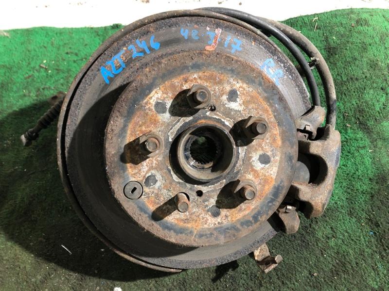 Ступица Toyota Caldina AZT246 1AZ-FSE задняя правая (б/у)