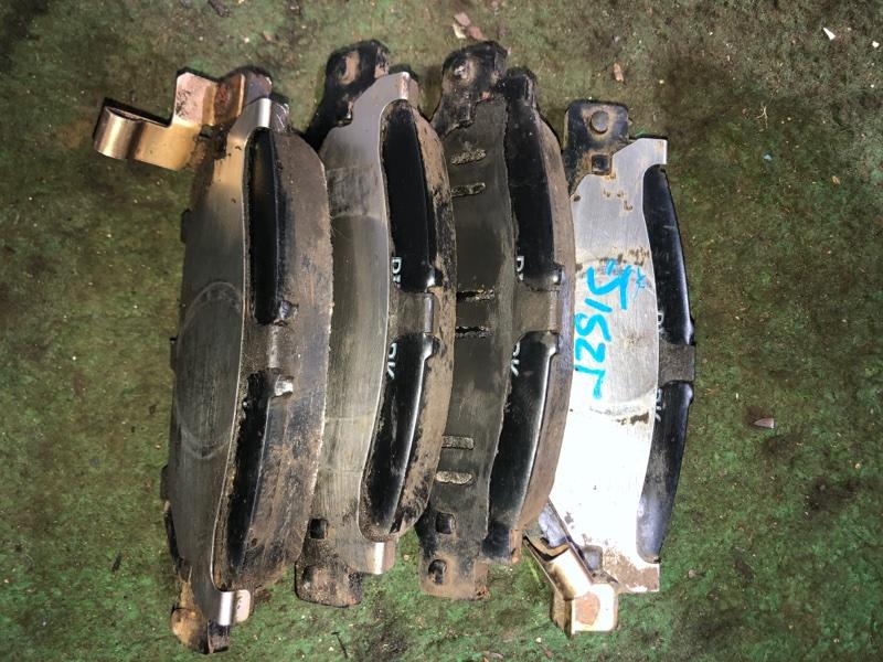 Тормозные колодки Toyota Crown JZS153 1JZGE заднее (б/у)
