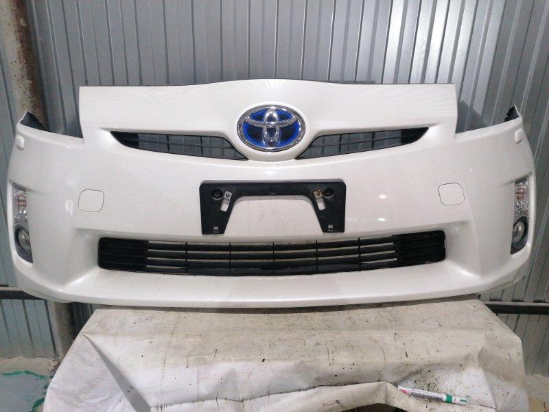 Бампер Toyota Prius ZVW30 2ZR-FXE 2010.04 передний (б/у)
