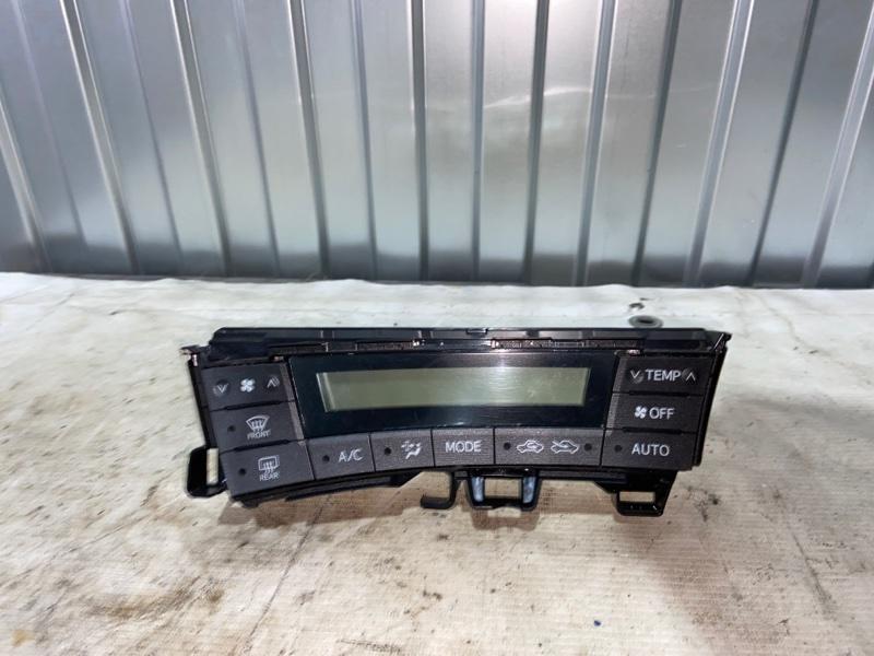 Блок управления климат-контролем Toyota Prius ZVW30 2ZR-FXE 2010.04 (б/у)