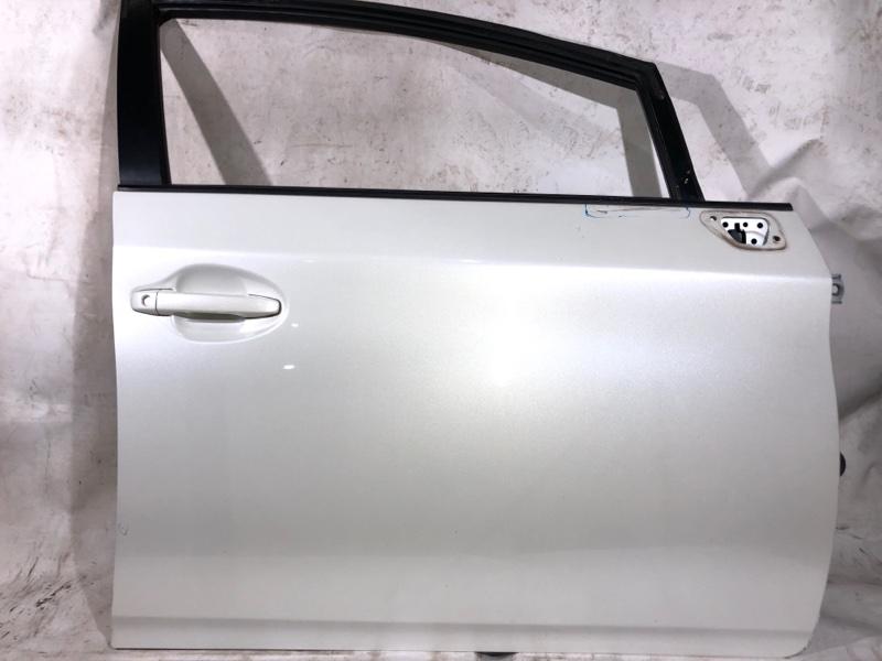 Дверь боковая Toyota Prius ZVW30 2ZR-FXE 2010.04 передняя правая (б/у)