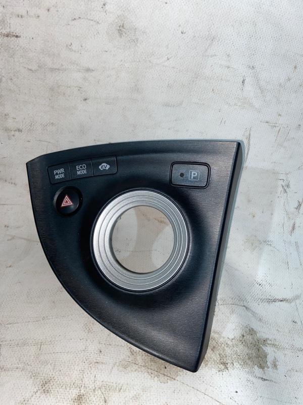 Консоль кпп Toyota Prius ZVW30 2ZR-FXE 2010.04 (б/у)