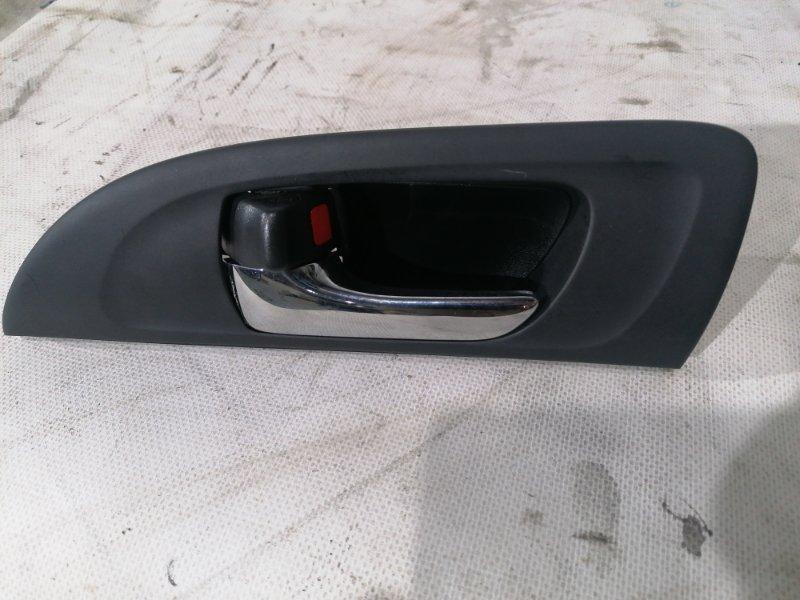 Ручка двери внутренняя Toyota Caldina AZT246 1AZ-FSE задняя левая (б/у)