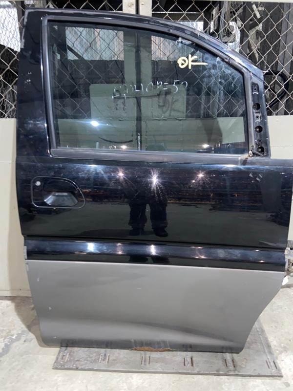 Дверь боковая Mitsubishi Delica PE8W 4M40 1997.09 передняя правая (б/у)