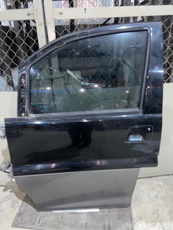 Дверь боковая Mitsubishi Delica PE8W 4M40 1997.09 передняя левая (б/у)