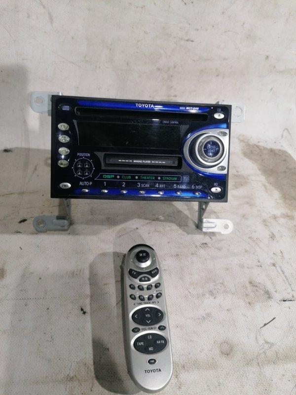 Магнитофон Toyota Land Cruiser UZJ100 2UZ-FE 2000.03 (б/у)