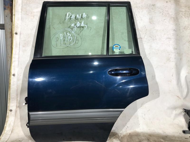 Дверь боковая Toyota Land Cruiser UZJ100 2UZ-FE 2000.03 задняя левая (б/у)