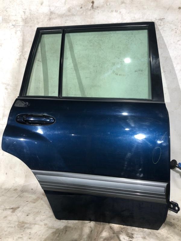 Дверь боковая Toyota Land Cruiser UZJ100 2UZ-FE 2000.03 задняя правая (б/у)