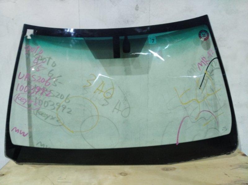 Стекло лобовое Toyota Crown Majesta URS206 1UR-FSE 2010.04 переднее (б/у)