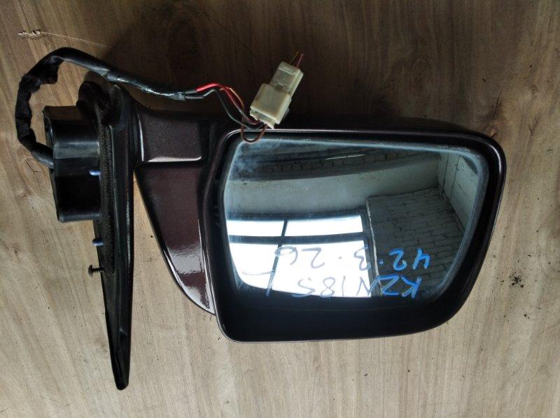 Зеркало Toyota Hilux Surf KZN185 переднее левое (б/у)