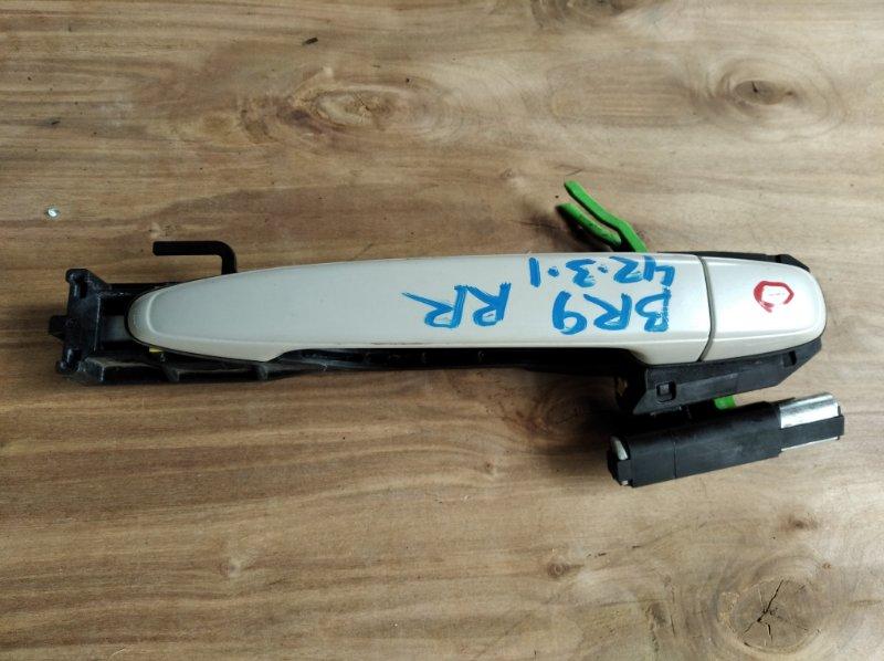 Ручка двери Subaru Legacy BR9 задняя правая (б/у)