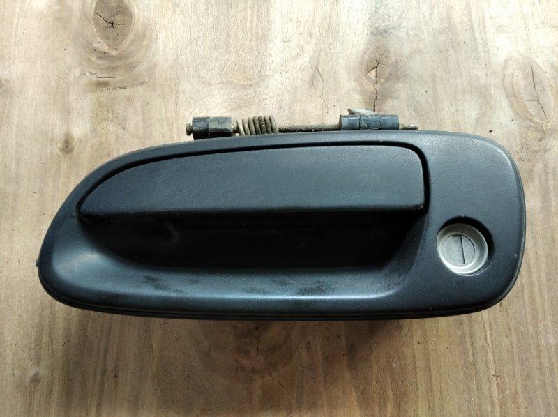 Ручка двери Toyota Caldina Van CT199 передняя левая (б/у)