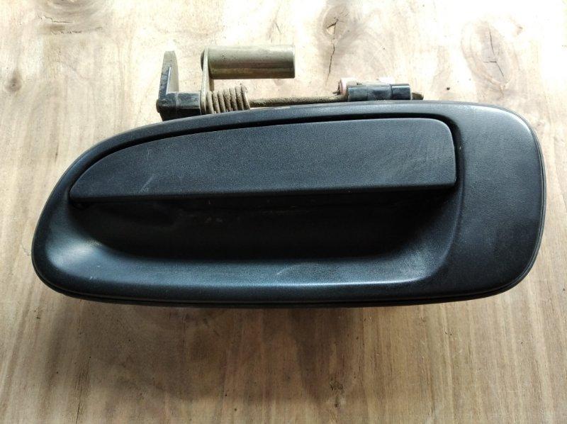 Ручка двери Toyota Caldina Van CT199 задняя левая (б/у)