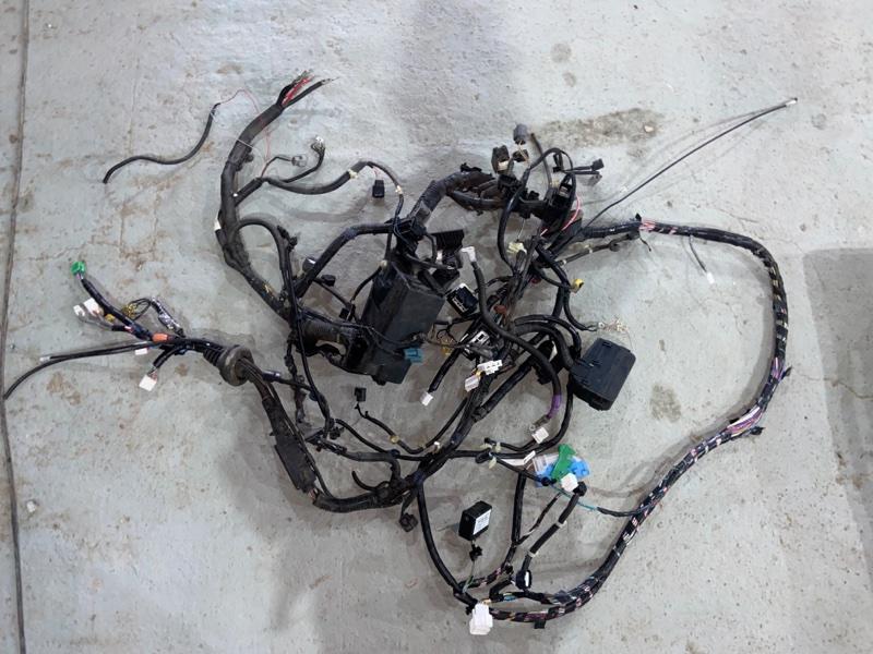 Электропроводка моторного отсека Honda Fit GP6 LEB 2015 (б/у)