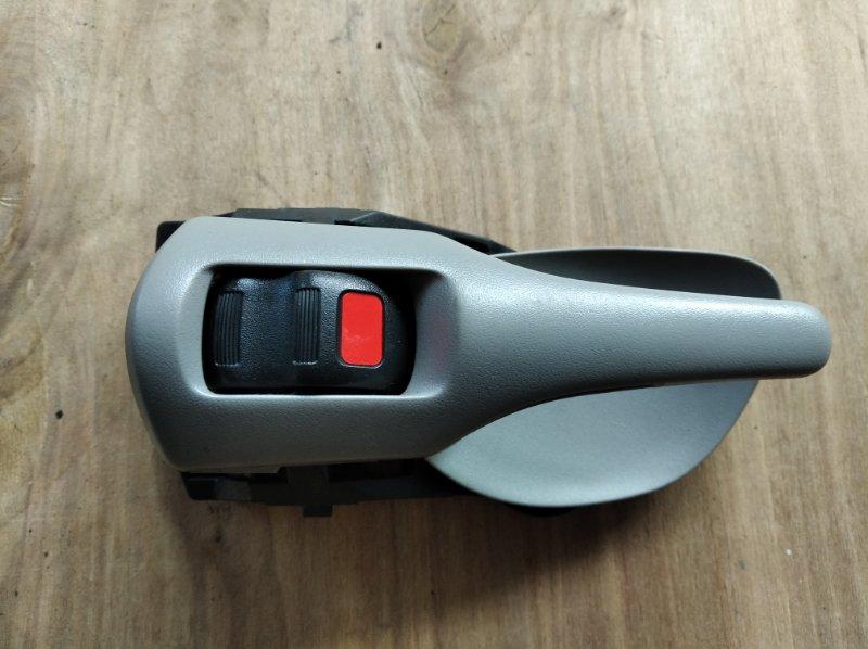 Ручка двери внутренняя Toyota Corolla Fielder NZE144 задняя левая (б/у)