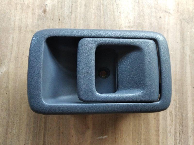Ручка двери внутренняя Toyota Hilux Surf KZN185 задняя левая (б/у)
