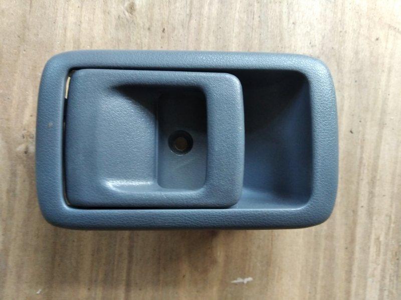 Ручка двери внутренняя Toyota Hilux Surf KZN185 передняя левая (б/у)