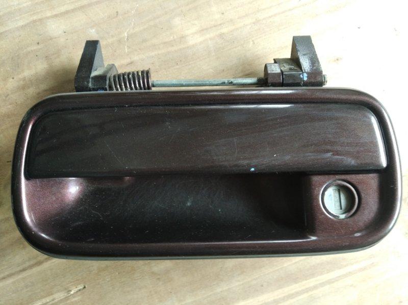 Ручка двери Toyota Surf KZN185 передняя левая (б/у)